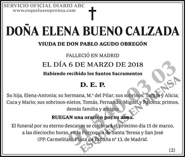 Elena Bueno Calzada